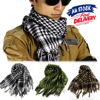Arab Army Neck Scarf Palestine Military Tactical Scarf Shemagh KeffIyeh