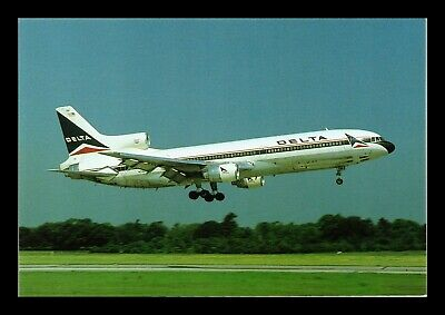 Dr Jim Stamps Us Delta Airlines Airplane Transportation Continental Postcard