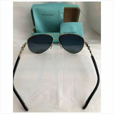 3944052c5f54 Tiffany & Co Sunglasses TD3049B Polarized VG With Cleaning glasses case bag  ...
