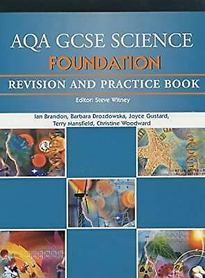 AQA GCSE Foundation Science Revision and Practice Book (AQA GCSE Separate Scienc