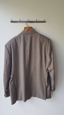 Taupe Bossini suit in size 48R