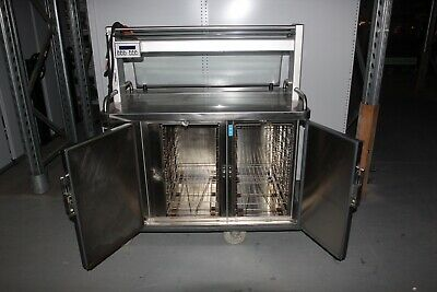 Burlodge Multigen II Rethermalised Oven Fridge Food Service Cart - 3 Phase