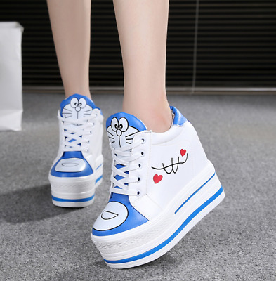 """2.5/"""" Tall Women Hidden Height Increasing Athletic Fashions Sneakers KP143"""