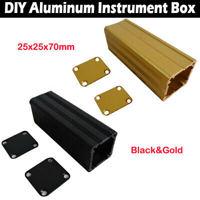 DIY Aluminum Box Project PCB Instrument Box Enclosure Electronic 25x25x70mm