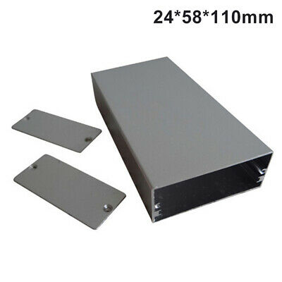 Aluminum Instrument DIY Case Project Box Enclosure Case Electronic24*58*50/110mm