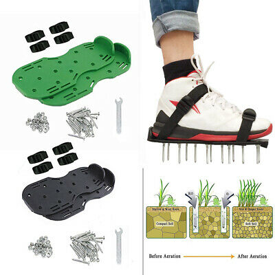 Nail Spiked Aeration Shoes 25mm, Studded Soles Spikes, Flooring Screed New UK