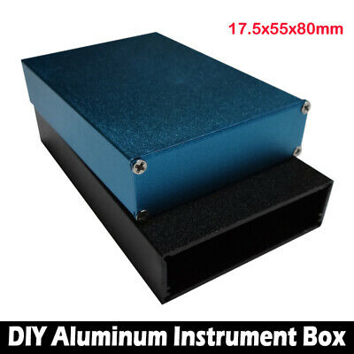 Aluminum PCB Instrument Box Enclosure Case Electronic Project DIY