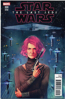Star Wars Last Jedi Adaptation #4 Reis 1:25 Variant (2018) Near Mint First Print