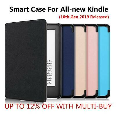 "Leather Smart Case Cover For 6"" All-New Kindle 10th Gen 2019 Released New 2019 +"