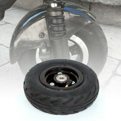 """Black Tyre 6x 2"""" Pneumatic Air Wheel Replace For Electric Scooter Access Rubber"""