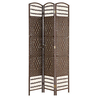 Sale Hand Made Wicker Room Divider/Separator/Privacy Screen Damaged Packet #133