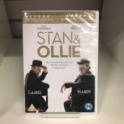 Stan & Ollie DVD - New and Sealed Fast and Free Delivery