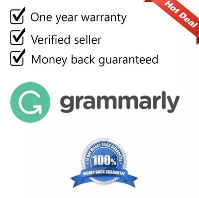 🌐 Grammerly Premium 🌐  One Year Warranty Instant Delivery ✔️