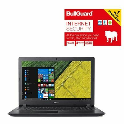 """Acer Aspire 3 A315-21-61TP 15.6"""" Laptop 8GB 1TB With Bullguard No Power Pack"""