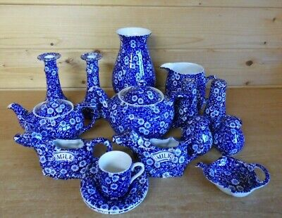 Burleigh Blue Calico - Available seperately - Please Choose from drop down menu