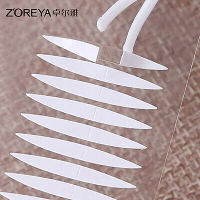 NEW Popular 20 Pairs Invisible Breathable Technical Double Eyelid Tape Sticker