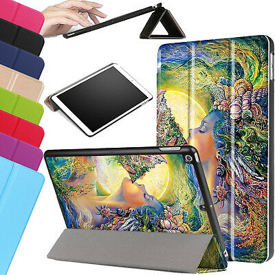 For Apple iPad 9.7 2018 6th Generation Smart Stand Leather Magnetic Case Cover
