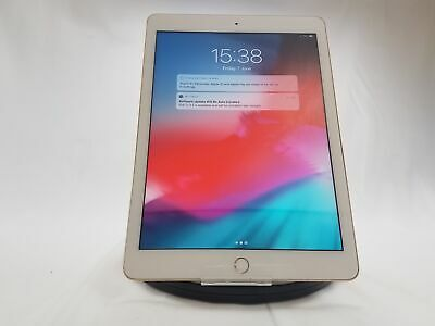 "Apple iPad 5th Gen 9.7"" Gold 128GB WiFi Only No Touch ID"