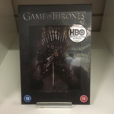 Game Of Thrones Complete First Season DVD - New & Sealed Fast & Free Delivery