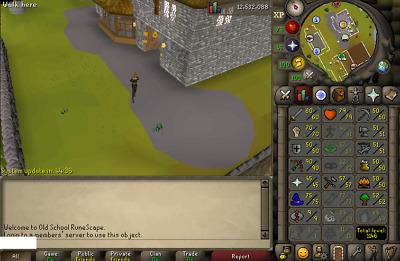 OSRS ACCOUNT CB Lvl 96, Stre Lvl 90 Dharok Pure Runescape Old School