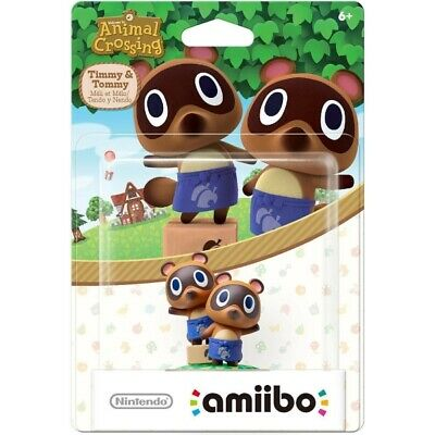Timmy & Tommy Nook Amiibo - Animal Crossing Series [Nintendo Switch Wii U 3DS]