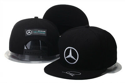 NEW 2019 Mercedes AMG F1 Adults Lewis Hamilton Baseball Cap Hat  Black