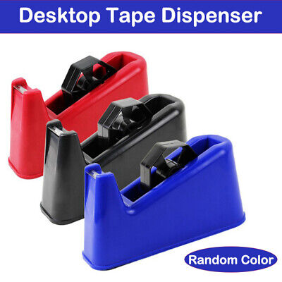 Tape Dispenser Office Desktop Heavy Duty Weight Sellotape Holder Uk