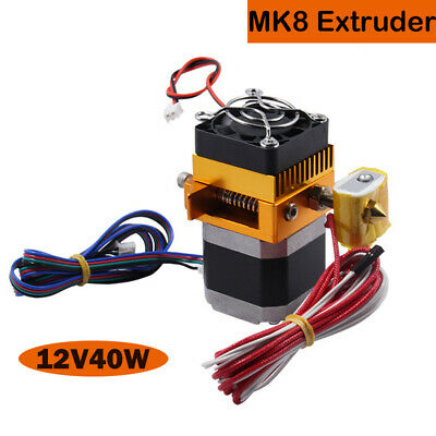 MK8 Extruder Update Nema17 for Prusa I3 Reprap 3D Printer