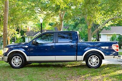 2010 Ford F-150 Two-Tone Blue w/Tan