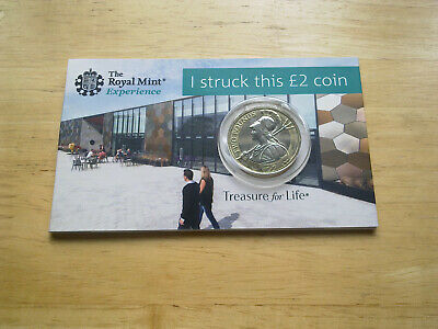 2019 Britannia £2  Two Pound Coin. - Strike Your Own Coin  In The  Royal Mint