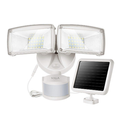 950LM Solar Light Outdoor, Upgraded Solar Powered Security Lights, Led Lights 48