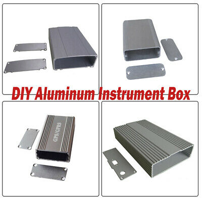 4 kinds Aluminum Project Box Enclosure Case Electronic DIY Instrument Case