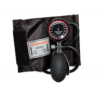 Valuemed Aneroid Palm Sphygmomanometer Clinical Sphyg Adult Cuff Pro CE & FDA