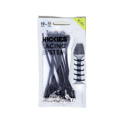 HICKIES Kids No Tie Shoe Laces, One Size Fits All