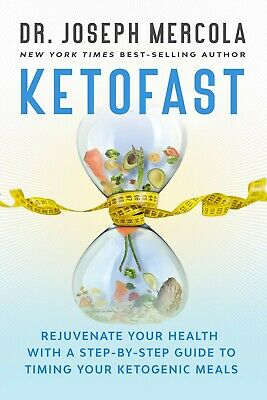 Ketofast by Dr. Joseph Mercola Brand New Hardcover Keto Fast Diet Book WT76239