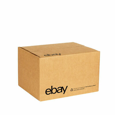 """NEW EDITION eBay-Branded Boxes With Black Color Logo 10"""" x 8"""" x 6"""" Official"""