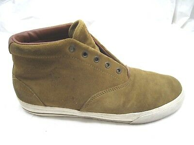 Polo Ralph Lauren Zale mens brown suede Chukka ankle boots sneakers 10D 43 shoes