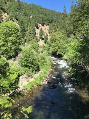 Rare Spanish Creek Placer Gold Mining Claim Land Quincy, CA
