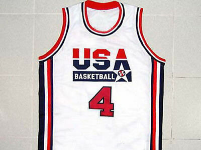 ANTONIO McDYESS TEAM USA BASKETBALL JERSEY QUALITY  NEW SEWN  ANY SIZE