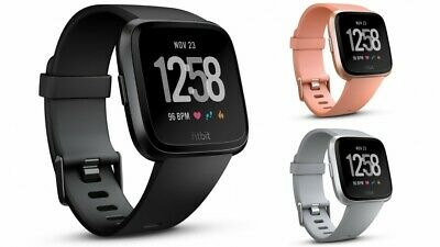 Fitbit Versa (Black,Silver,Rose Gold) , BRAND NEW PEBBLE , FREE SHIPPING