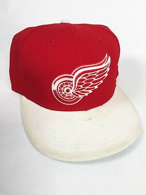 promo code 66a6b 5e76e Detroit Red Wings New Era 9FIFTY NHL Red Primary Snapback Hockey Cap Hat