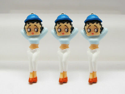 10 Betty Boop Charm Pendant Figurines 10 pieces Gifts BB924 Wholesale
