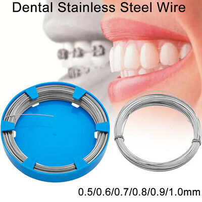 0.50~1.0mm Stainless Steel Dental Wire Ligature Wire Orthodontic Instrument