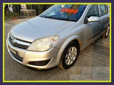 2008 Holden Astra AH CD Silver Automatic A Hatchback