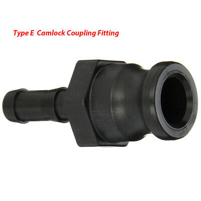 Camlock Hose Coupling Fitting, Male - Type E Cam & Groove 3/4''-3''