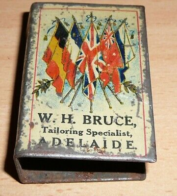 W. H. Bruce Tailors Adelaide Advertising Vintage Pack of Cards Rare Collectable