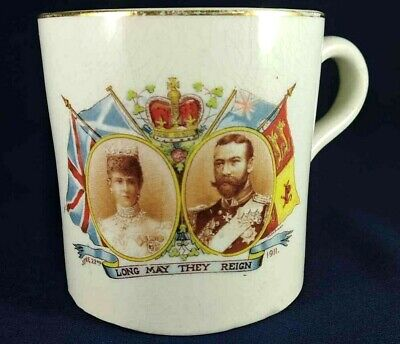 King George V Coronation Mug 1911