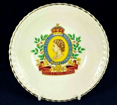Queen Elizabeth Coronation 1953 Sovereign Pottery Small Bowl