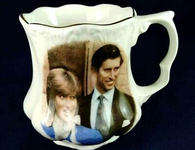 Charles & Diana Wedding St George Mug 1981