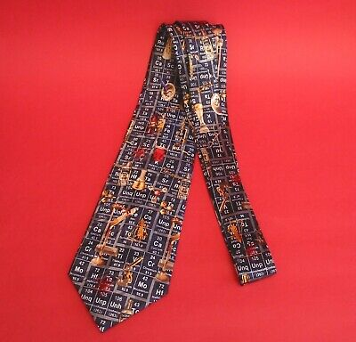 Chemistry Periodic Table Tie Science Teacher Scientist End of Term Gift Lecturer